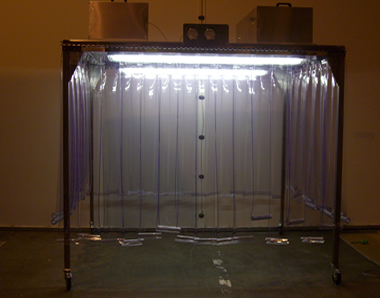 2.5 Metre Soft Wall Booth