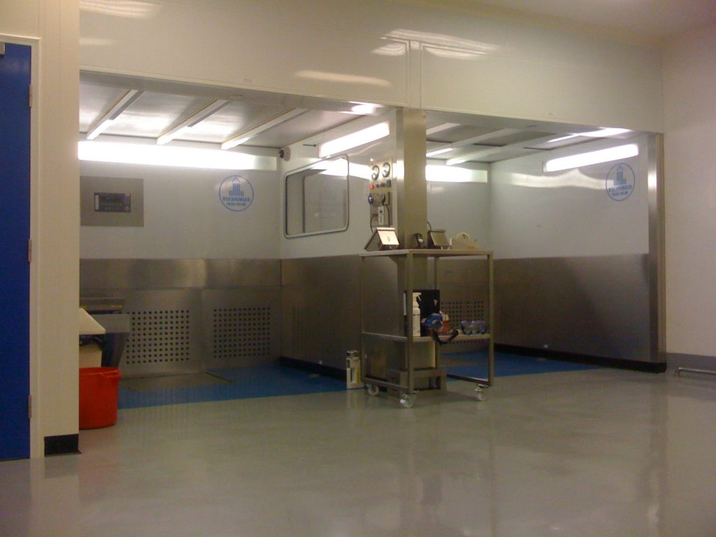 Clean Room Validation, Downflow Booths and Soft Wall Sample Booths